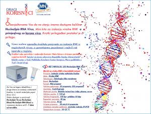 Kit za izolaciju virusne RNK – za korona virus (NA LAGERU)