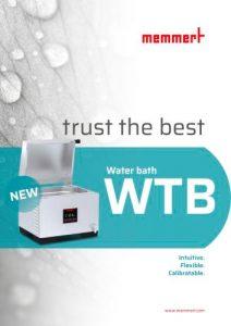 Memmert Vodena kupatila, WTB IDEALNA ZA TEMPERATURNU KONTROLU RAZLIČITIH VRSTA UZORAKA.